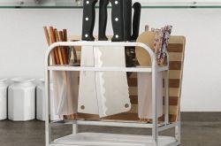 告別凌亂無序的廚房,廚房里的置物架有哪些呢?