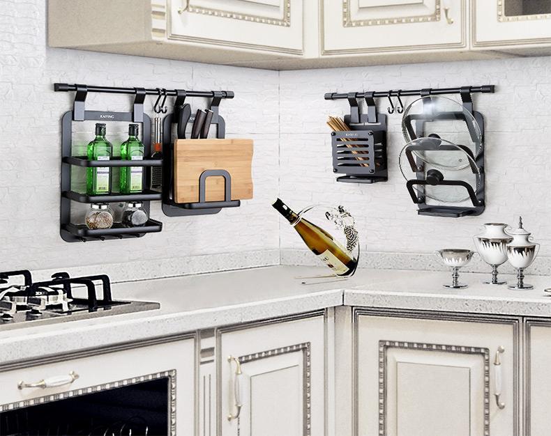 告别凌乱无序的厨房,厨房里的置物架有哪些呢?