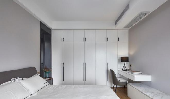92平方三居卧室现代装修效果图