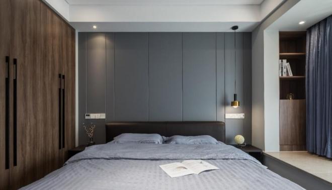 160平现代简约卧室装修效果图