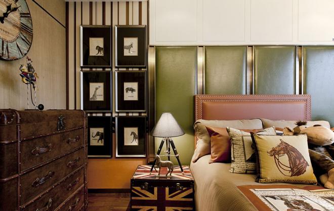 荆州舒适简欧风两居室装修效果图