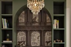怀化家装丝绒质感的复古风装修设计案例