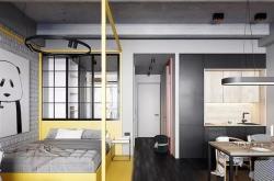 梅州40平米單身公寓怎么裝修設計成工業風?