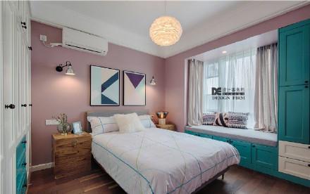 深圳82㎡北欧混搭幸福小家装修效果图
