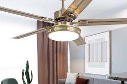 清远客厅装修装吊扇灯实用吗?