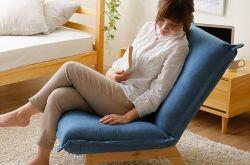 清远家装常用懒人沙发睡觉对腰好不好?