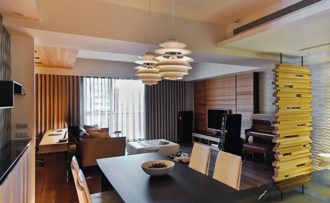 潮州两居室简美风装修效果图