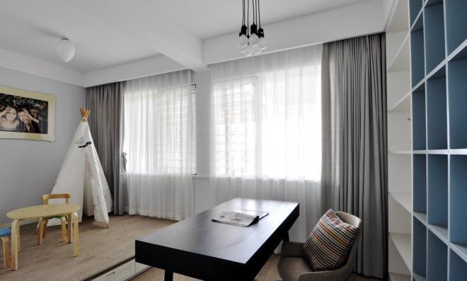 遂宁两居室现代简约风装修效果图