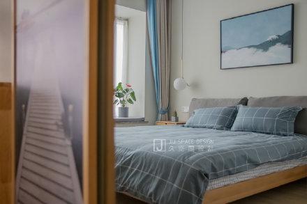漢中寧靜不失溫度的北歐風住宅裝修效果圖