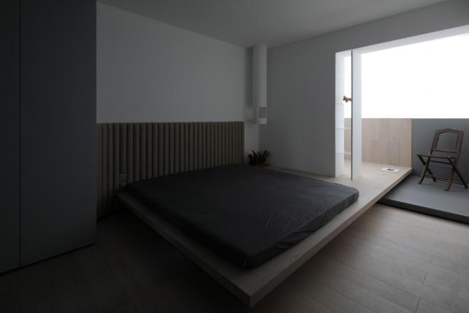 黔西南三居室极简风装修效果图