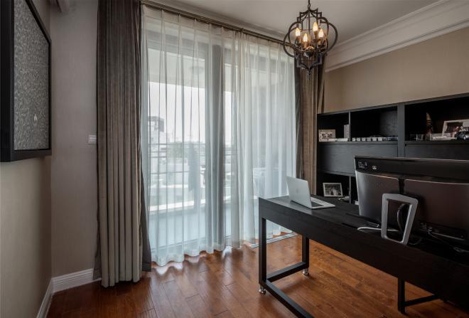 定西三居室美式宜家风装修效果图