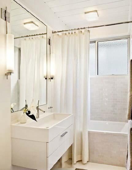 小户型浴室装修效果图