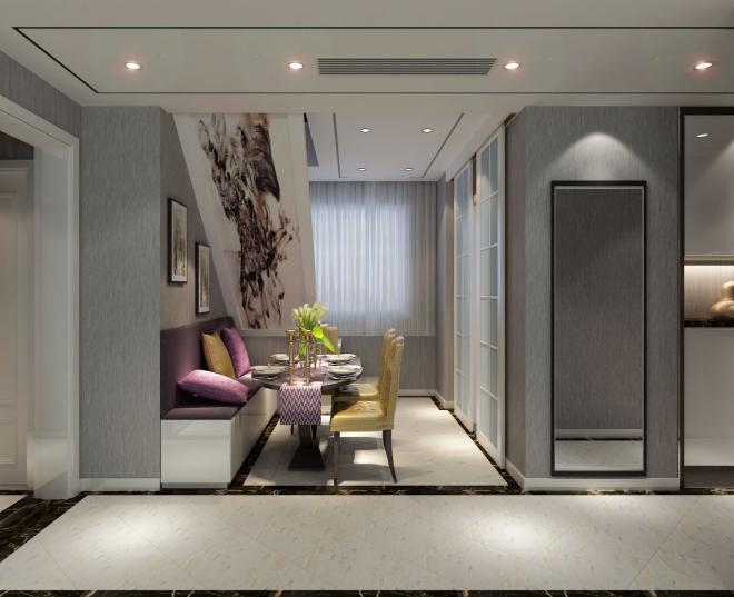 焦作兩居室現代簡約風裝修效果圖