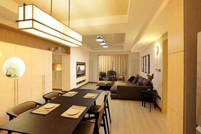 苏州两居室现代极简风装修效果图