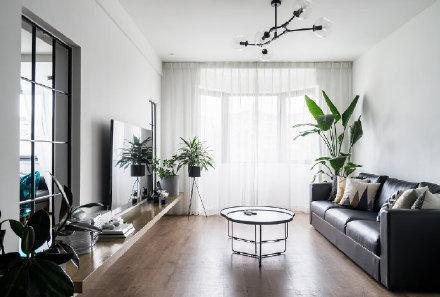 长沙慵懒惬意的美式风格公寓装修效果图
