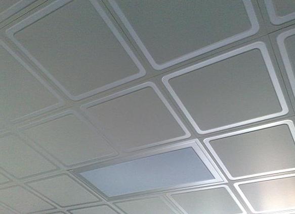 昆明装修吊顶滚涂板与覆膜板有什么区别?