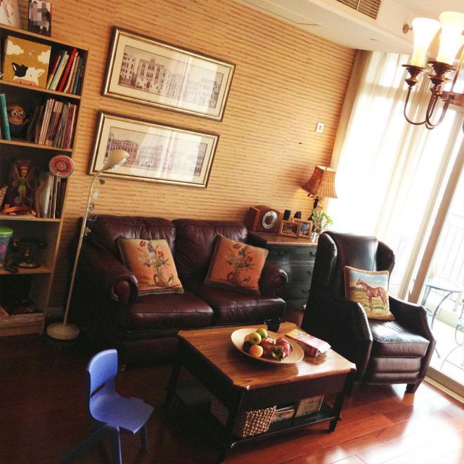 昆明两居室复古美式风装修效果图