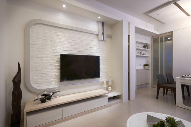 濮阳两居室现代简约风装修效果图