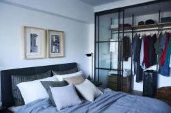 湖州臥室裝修去衣柜化怎么設計?