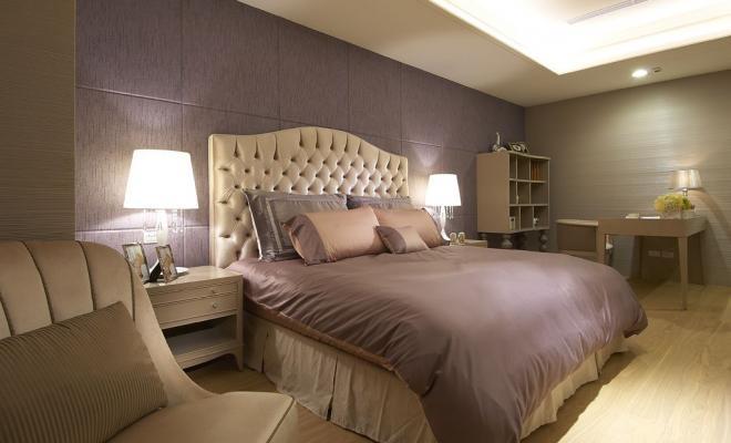 四居室奢华后现代风卧室装修效果图