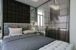 客厅和卧室透光隔断墙 室内隔断墙用什么材料好
