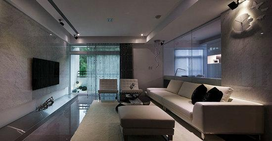 现代风格设计小户型装修效果图 家居装修效果图大全
