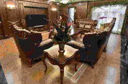 亚光和抛光瓷砖哪个更高端大气 地砖客厅装修效果图