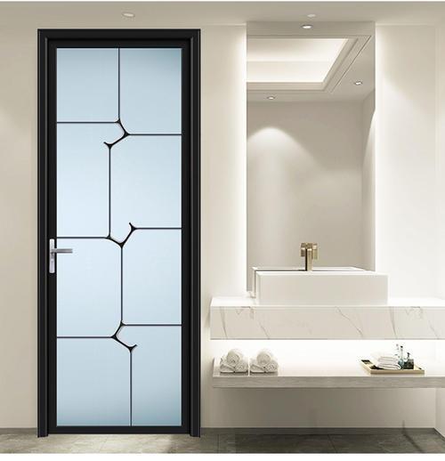 15平米卫生间现代风格浴室门隔断装修效果图