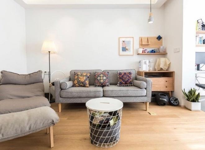 80㎡日式北欧风二居室装修效果图 家居设计图