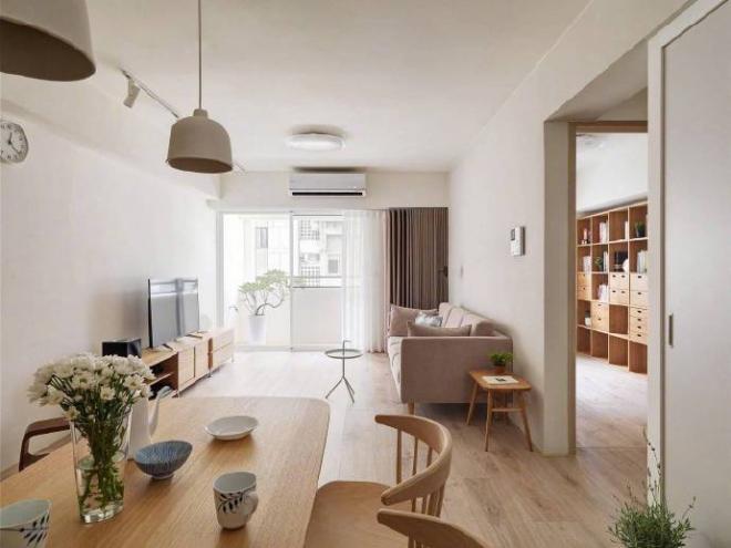日式原木风家居装修案例效果图 家居设计图