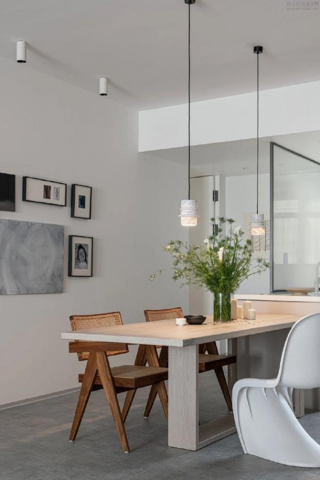 125㎡现代简约风格美家 室内外装修效果图
