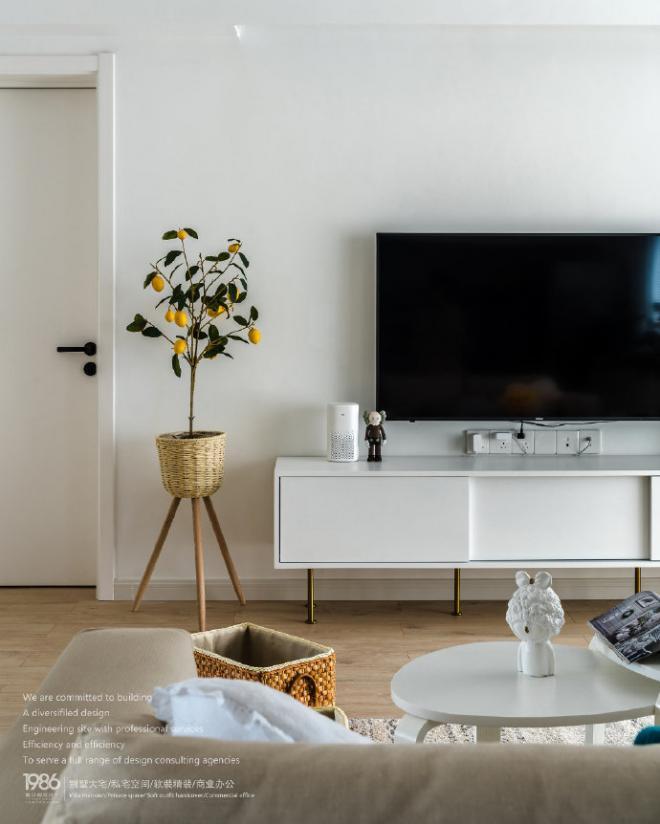 清新宜家北欧风格住宅 室内外装修效果图
